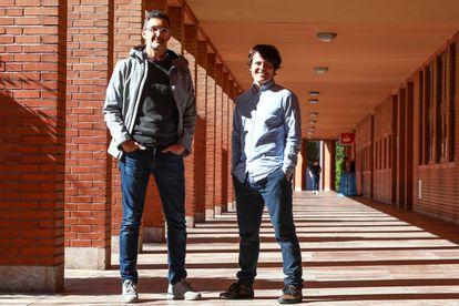 The study authors Juan Tapiador (left) and Narseo Vallina-Rodríguez.
