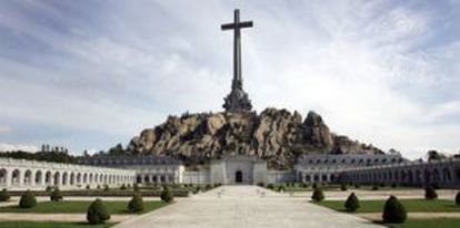 Franco is buried at the Valley of the Fallen, north of Madrid.