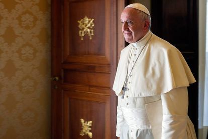 Pope Francis in Vatican City this week