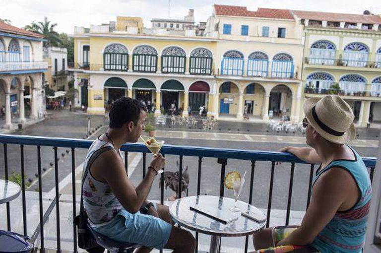 The Azúcar bar-restaurant in Plaza Vieja is one of the newest private businesses to open in Havana's historic quarter.