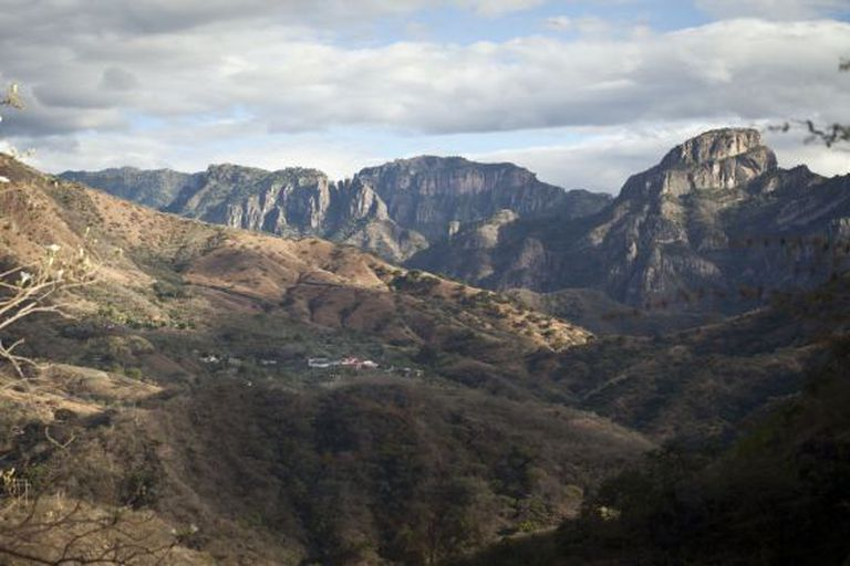 "La Tuna, the town in the Sinaloa mountains where ""El Chapo"" was born."