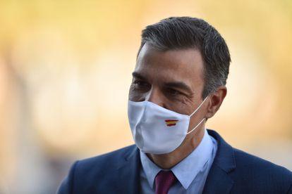 Spain's Prime Minister Pedro Sanchez in Barcelona on Friday.