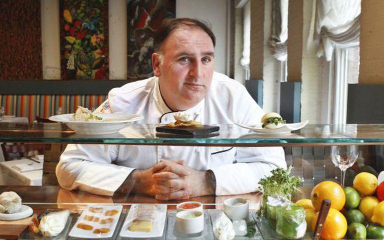 Spanish chef José Andrés.