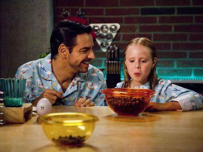 Actor-director Eugenio Derbez in his film 'Instructions Not Included.'