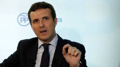 Pablo Casado of the PP says Sánchez is a traitor.