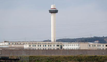 Picassent prison in Valencia, where 155 coronavirus cases have been detected.