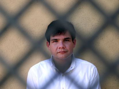 """Francisco """"Paco"""" Larrañaga saw his life sentence changed to the death penalty before he was transferred from the Philippines to Spain, where he is currently in prison. / uly martín"""