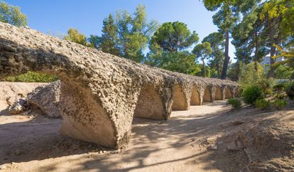 Remains of the Roman circus in Toledo.