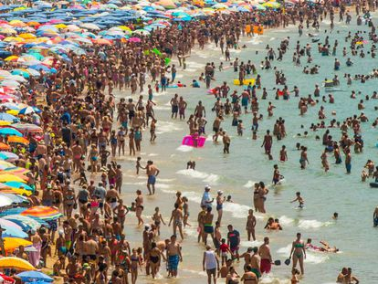 British visitors have been a mainstay of Spanish beach resorts for years.