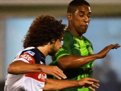 Cléber Santana was captain of Chapecoense, a Brazilian team on its way to play historic final