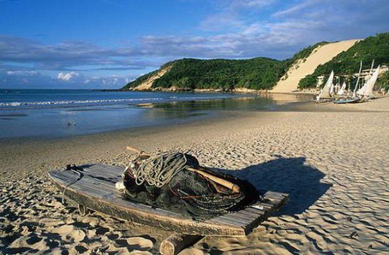 Beach in Natal in Rio Grande do Norte.