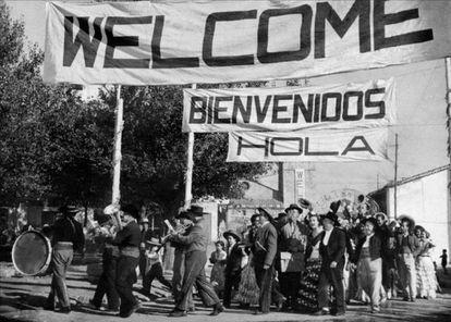 'Bienvenido Mr. Marshall' (1953), a celebration of 'typically Spanish'.
