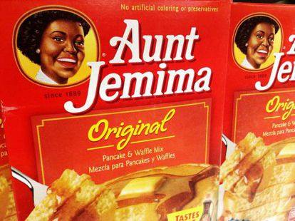 Aunt Jemima products.