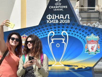 Getting to the soccer final in Kiev is proving difficult for fans.