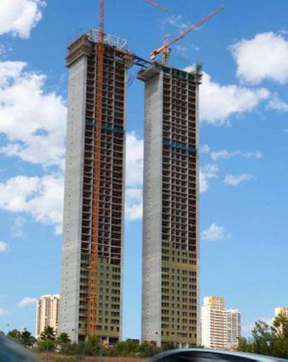 InTempo, which rises high above Benidorm's already crowded skyline.
