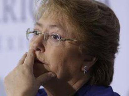 Chilean President Michelle Bachelet.