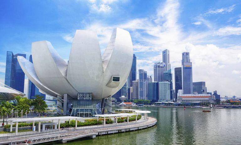 Singapore, the top-ranked expat destination.