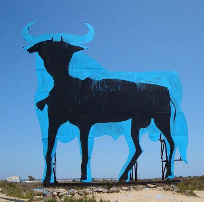 The Santa Pola bull in 2009.