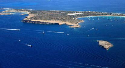 S'Espalmador island.
