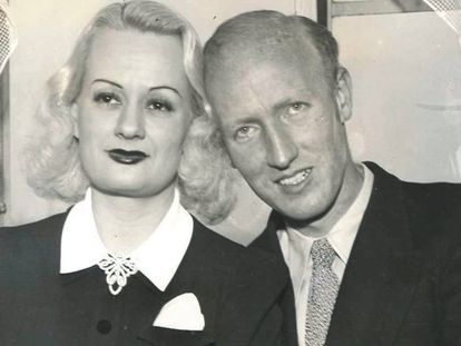 Edith Rogers and Harold E. Dahl were reunited in New York on March 17, 1940.