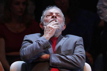 Luiz Inácio Lula da Silva at a recent even in Río de Janeiro.