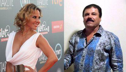Kate del Castillo and 'El Chapo Guzmán.'