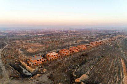 Housing development in Zaragoza.