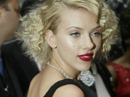 Actress Scarlett Johansson.