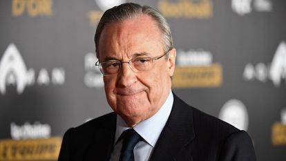 Florentino Pérez, the president of Real Madrid.