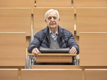 Miguel Castillo, 80, will travel to Italy on an Erasmus grant.