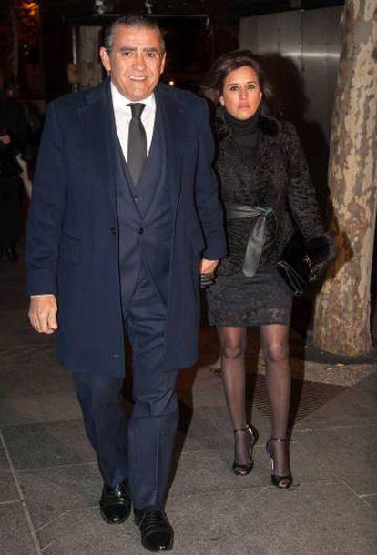 Jaime Martínez-Bordiú and his partner Marta Fernández.