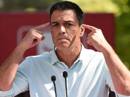 PSOE Secretary General Pedro Sánchez.