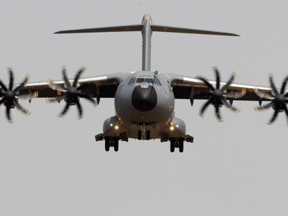 A Spanish-made Airbus A400M.