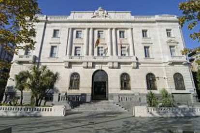 The Bank of Spain building in Santander will house the new museum.