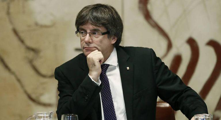 Catalan regional premier, Carles Puigdemont.