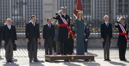 Felipe VI and Letizia preside the Pascua Militar for the first time on Tuesday.