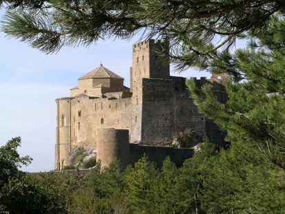 Loarre Castle is one of the best-preserved fortresses in Spain.