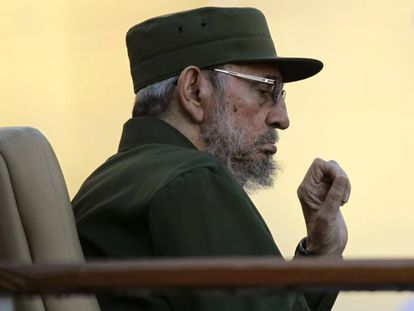 Fidel Castro (above) apparently accepted eight ETA members from Nicaragua on request of the sandinistas.