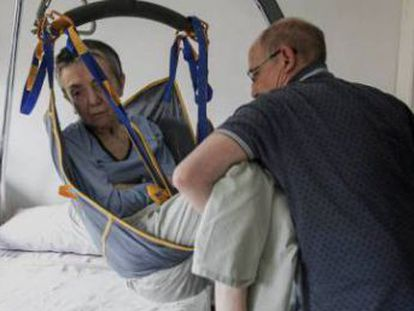 María José Carrasco suffered from multiple sclerosis for 30 years and had reached the terminal stage of the disease