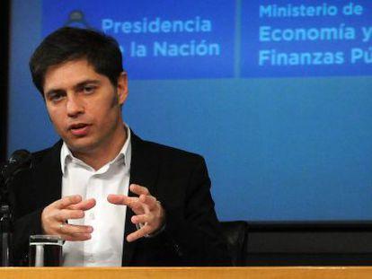 Argentinean Economy Minister Axel Kicillof.