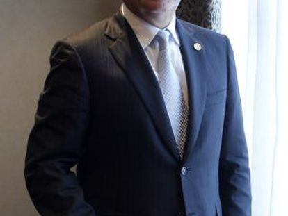 Guatemalan President Otto Pérez Molina in Madrid last week.