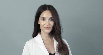 The dermatologist Almudena Nuño González of La Paz hospital.