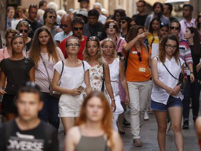 The political crisis in Catalonia is having its effect on tourism.