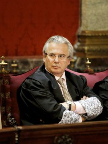 The suspended High Court judge, Baltasar Garzón.