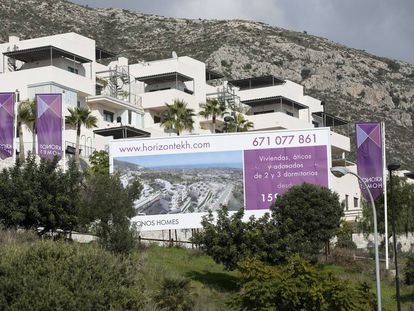 New homes for sale in Benalmádena, Malaga province.