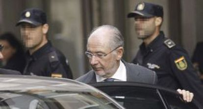 Former IMF chief Rodrigo Rato is caught up in the Caja Madrid credit card scandal.