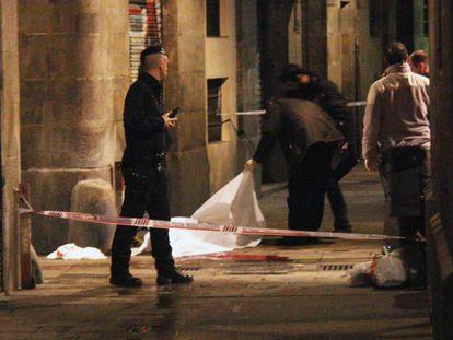 A scene from 'Ciutat Morta'.