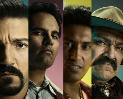 Characters of the new series 'Narcos: México.'
