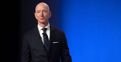 Amazon and Blue Origin founder Jeff Bezos.