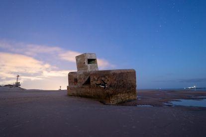 The Punta del Boquerón bunker in San Fernando in Cádiz.
